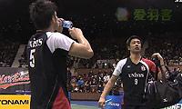 早川贤一/远藤大由VS平田典靖/桥本博且 2013日本全国锦标赛 男双决赛视频