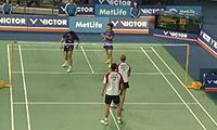徐晨/马晋VS福克斯/迈克斯 2014韩国公开赛 混双1/4决赛视频