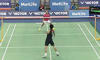 约根森VS坂井一将 2014韩国公开赛 男单1/8决赛视频