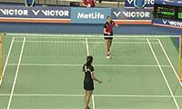 因达农VS马琳 2014韩国公开赛 女单1/8决赛明仕亚洲官网