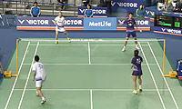 徐晨/马晋VS刘成/包宜鑫 2014韩国公开赛 混双半决赛视频