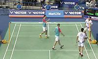 傅海峰/洪炜VS爱德考克/埃利斯 2014韩国公开赛 男双半决赛视频