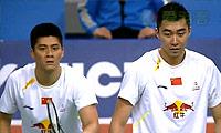 鲍伊/摩根森VS傅海峰/洪炜 2014韩国公开赛 男双决赛视频