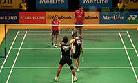 艾哈迈德/纳西尔VS早川贤一/松友美佐纪 2014马来公开赛 混双1/16决赛视频