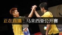 2014年马来西亚羽毛球公开赛 直播表