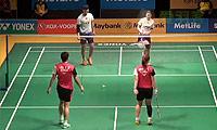 李龙大/申升瓒VS柴飚/汤金华 2014马来公开赛 混双1/16决赛视频