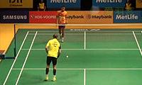 约根森VS狄奥尼修斯 2014马来公开赛 男单1/16决赛视频