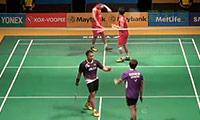 费尔纳迪/基多VS园田启悟/嘉村健士 2014马来公开赛 男双1/16决赛视频