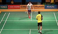 谌龙VS魏楠 2014马来公开赛 男单1/8决赛视频
