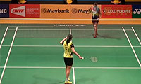 李雪芮VS玛努布蒂 2014马来公开赛 女单1/4决赛视频