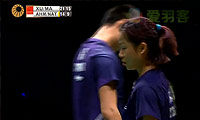 徐晨/马晋VS艾哈迈德/纳西尔 2014马来公开赛 混双半决赛视频