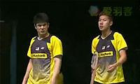 吴伟申/林钦华VS普拉塔玛/萨普特拉 2014马来公开赛 男双半决赛视频