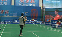 杨帆(四川)VS王威(上海) 2014贺岁杯对抗赛 男单资格赛视频