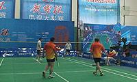 郑周/张智愈(四川)VS葛成/刘濒煜(上海) 2014贺岁杯对抗赛 男双资格赛视频