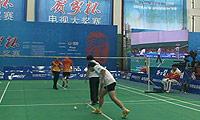 傅培森/李琼(四川)VS林龙/孙阳(上海) 2014贺岁杯对抗赛 混双资格赛视频