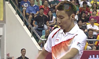 李宗伟VS吴昕 2013中国羽超联赛 男单资格赛视频