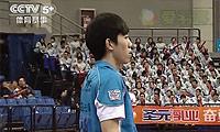 吴昕VS刘杰 2013中国羽超联赛 男单资格赛视频