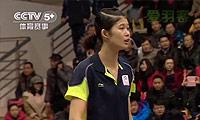 陈晓佳VS谢扬 2013中国羽超联赛 女单资格赛视频