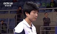 周卉VS韩利 2013中国羽超联赛 女单资格赛视频