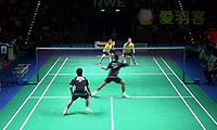玛尼蓬/尼迪蓬VS安德烈亚斯/麦克斯 2014德国公开赛 男双1/4决赛视频