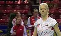 延森VS迪尔 2014欧洲团体锦标赛 女单决赛视频