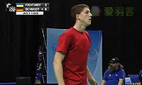 施密特VS波奇塔列夫 2014欧洲团体锦标赛 男单1/4决赛视频
