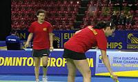 克鲁斯/罗布克VS内德尔奇娃/泽奇里 2014欧洲团体锦标赛 女双半决赛视频
