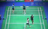 佩蒂森/尤尔VS萨里/姚蕾 2014全英公开赛 女双1/16决赛视频