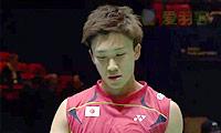 桃田贤斗VS欧斯夫 2014全英公开赛 男单1/8决赛视频