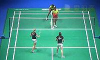 皮娅/普拉蒂普塔VS加布里/L.史密斯 2014全英公开赛 女双1/8决赛视频