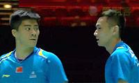 傅海峰/张楠VS爱德考克/埃利斯 2014全英公开赛 男双1/8决赛视频