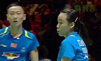 张楠/赵芸蕾VS爱德考克/加布里 2014全英公开赛 混双1/4决赛视频