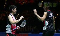 艾哈迈德/纳西尔VS高成炫/金荷娜 2014全英公开赛 混双半决赛视频
