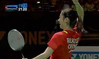 王适娴VS李雪芮 2014全英公开赛 女单决赛视频