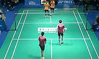 瓦赫尤那亚卡/尤苏夫VS高成炫/申白喆 2014瑞士公开赛 男双1/16决赛视频