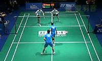 刘成/包宜鑫VS尼尔森/佩蒂森 2014瑞士公开赛 混双1/4决赛视频