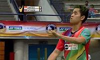 西蒙VS西蒂空 2014马来黄金赛 男单半决赛视频