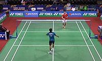 卡什亚普VS王睁茗 2014印度公开赛 男单1/16决赛视频