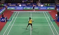 打田志津香VS图拉西 2014印度公开赛 女单1/16决赛视频