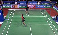 上田拓马VS斯里坎特 2014印度公开赛 男单1/16决赛视频