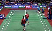 傅海峰/张楠VS科纳/桑亚尔 2014印度公开赛 男双1/16决赛视频