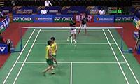 苏吉特/莎拉丽VS玛尼蓬/沙西丽 2014印度公开赛 混双1/8决赛视频