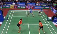 田卿/赵芸蕾VS古塔/蓬纳帕 2014印度公开赛 女双1/8决赛视频