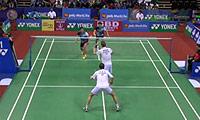 鲍伊/摩根森VS高成炫/申白喆 2014印度公开赛 男双1/4决赛视频