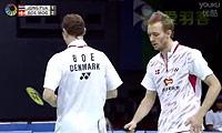鲍伊/摩根森VS玛尼蓬/尼迪蓬 2014印度公开赛 男双半决赛视频