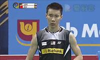 李宗伟VS杜鹏宇 2014印度公开赛 男单半决赛视频