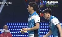 王帅/郑健VS刘嘉辉/许绩彤 2013谁是球王争霸赛 男双决赛视频