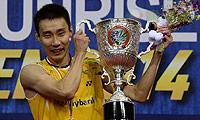 李宗伟VS谌龙 2014印度公开赛 男单决赛视频