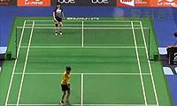 因达农VS郑清亿 2014新加坡公开赛 女单1/16决赛视频