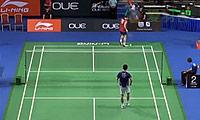 杜鹏宇VS佐佐木翔 2014新加坡公开赛 男单1/16决赛视频
